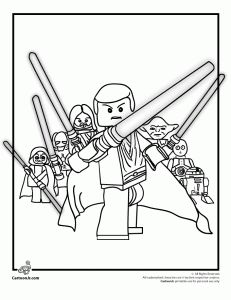 lego color pages