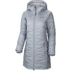 Columbia Sportswear Women's Mighty Lite Hooded Jacket, Tradewinds Grey, 1X