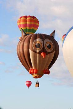 Hoot Owl Balloon, Balloon Fiesta, Albuquerque