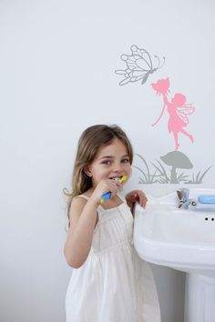 Fairy wall decal Girls room decal sticker  Cute by CherryWalls, $18.00