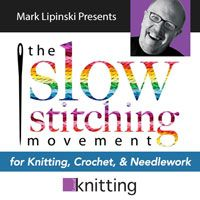 The Slow Stitching Movement - This inspiring web seminar with Mark Lipinski will help you tap into your creative potential as you #crochet.