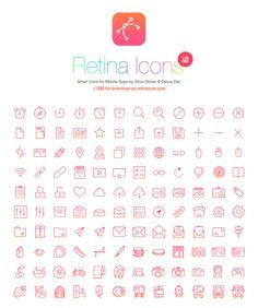 RetinaIcon - 365psd