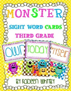 THIRD GRADE SIGHT WORD POSTERS