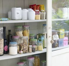 Storage jars by Jamie Oliver