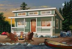 {( cute house plan, maybe for a rental unit )} 480 sq. ft.  Bedrooms:2   Bathrooms:1  Width:24ft.Depth:20ft.Height:13ft.-9in.  Foundation:Pier   Ceiling Height:8 feet