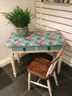 Upcycled desk by www.urbanrook.co.uk