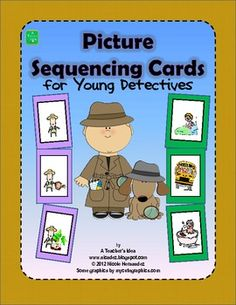 Picture Sequencing Cards for Young Detectives