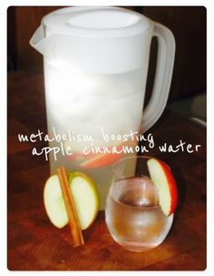 Metabolism Boosting Apple Cinnamon Water! Loose Weight Fast And Still Eat What You Want! ❤️