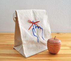 Don't Forget Me Lunch Bag