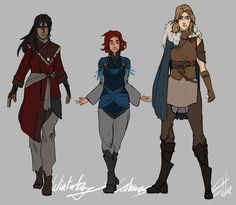 WK costume development by *Soliloquis on deviantART