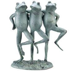 Dancing Frogs Sculpture