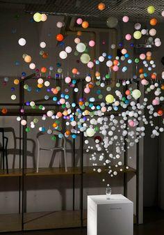 LET'S STAY: Sparkling Bubbles installation by Emmanuelle Moureaux for Coca-Cola