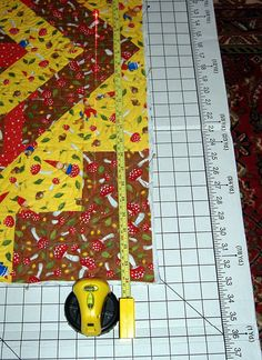 The Quilting Climber: Quilting Tutorials, Blocking and squaring up a quilt...very insightful!