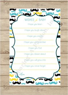 Wishes+for+Baby++Wishes+for+Baby+Printable++by+SharingAPassionINC,+$14.00