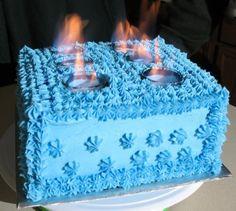Percy Jackson bday cake