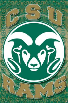 I said I'm proud to be a CSU Ram!