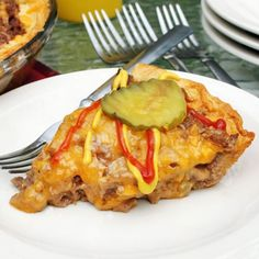 Cheeseburger Pie  Though this is a cheap and easy go-to family dinner, the recipe is fun enough to serve as a party food. Make individual tartlets to serve as delicious and inexpensive appetizers.