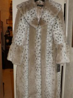 Pamela McCoy Couture Lynx Fur Replica Coat Brand New with Tags Size Small | eBay