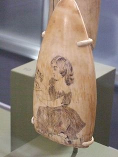 Scrimshaw Ivory 19th century