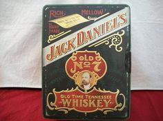 Vintage Jack Daniels Old  7 Shot Glass Set In by ALEXLITTLETHINGS, $25.00