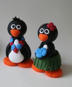 Hawaiian Wedding Penguins
