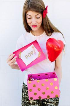 DIY Popup Balloon Love Messages