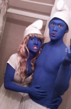Another great example of a Smurfs Costume Idea for 80s Party: http://www.liketotally80s.com/2011/07/80s-costume-smurf/