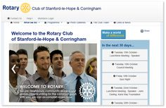 RIBI (Rotary in Great Britain & Ireland) offers a website template for their clubs and districts to use. http://www.rotary-ribi.org/