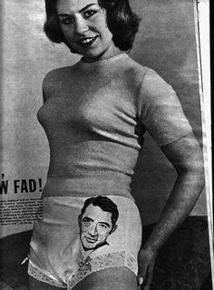 Gregory Peck panties