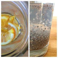 Fruity Chia Seed Water