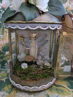 Inside fairy jar