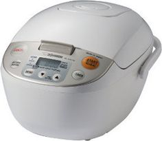 Enter to win a Micom Rice Cooker & Warmer from Zojirushi. It will cook your rice flawlessly and also doubles as a steamer!