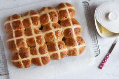 hot cross, cross bun, breakfast breads