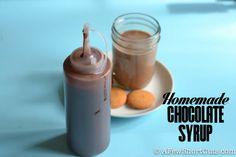 Super Simple Homemade Chocolate Syrup #recipe