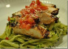 Once A Mom, Always a Cook: Avocado, Spinach, Basil Pesto