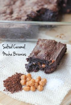 Salted Caramel Mocha Brownies
