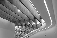 MAXXI (Museum for XXI century arts) Rome, Zaha Hadid architect