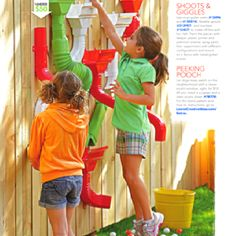 """Fun! From Lowes' magazine """"Creative Ideas"""""""