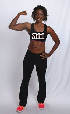 More than Weight Loss: Zhivi Tranformed Her Body