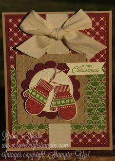 christmas cards, christma card, cozi christma, mitten christma, cozy christmas