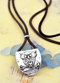 Owl+Necklace++See+Your+Own+Strength+Necklace++by+islandcowgirl,+$62.00