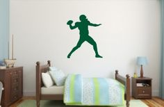 Football Quarterback Vinyl Wall Decal