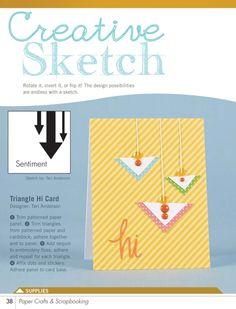 sketch, craft amp, card, paper crafts