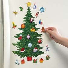 Magnetic Christmas Countdown Tree