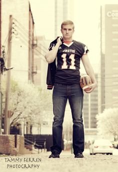 senior portrait guy...one of the few football poses I actually like...