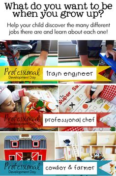 A Wonderful Collection of Pretend-Play Activities... *Great printables