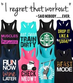 Don't skip that #Workout, and Don't Regret missing out on this Deal! Any 3 Racerback Tank Tops by #NobullWomanApparel are only $63.95 on Etsy. Perfect for #Running or workout out. Tons to choose from, click here to buy https://www.etsy.com/listing/166153381/3-workout-fitness-tank-tops-15-off?ref=shop_home_feat_4