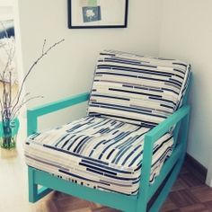 An old boring rocking chair turns into my favorite place in the house.