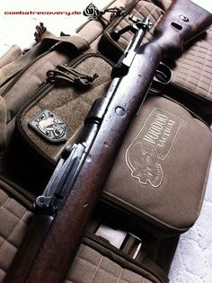 Springfield 1903 Caliber: 30-06 Range: 600yards History: saw service from WW1-WW2; was a Basic issued service rifle and also played the role as a sniper rifle(with optics)