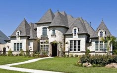 Colleyville, Texas home stone